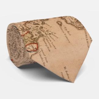Vintage Karte von Massachsuetts (1795) Personalisierte Krawatten
