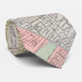 Vintage Karte von Providence Rhode Island (1899) Krawatte