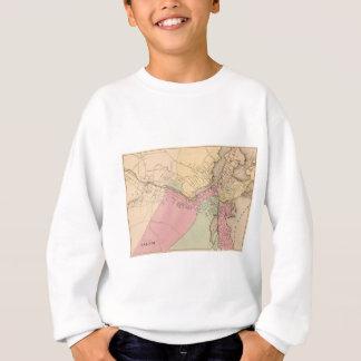 Vintage Karte von Salem Massachusetts (1871) Sweatshirt