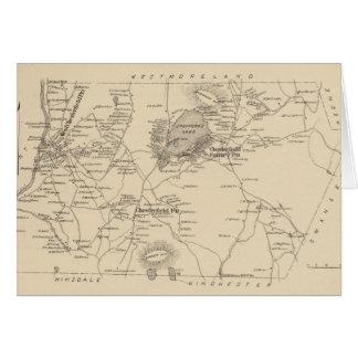 Vintage Karte von Spofford und von Chesterfield NH