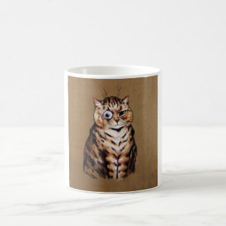 Vintage Katzen-Kaffee-Tasse Tasse