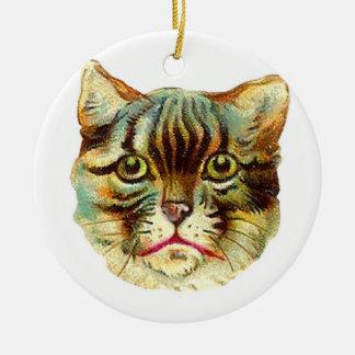 Vintage Katzen-Verzierung Weihnachtsbaum Ornament