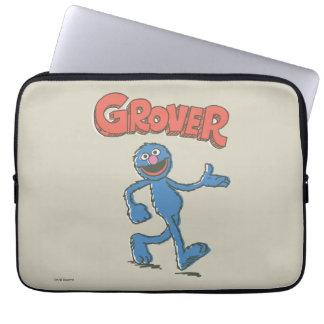 Vintage Kinder 2 Grover Laptopschutzhülle