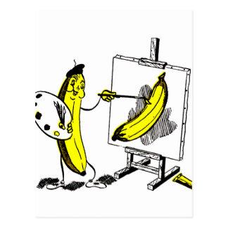 Vintage Kitsch-Bananen der Bananen-Künstler
