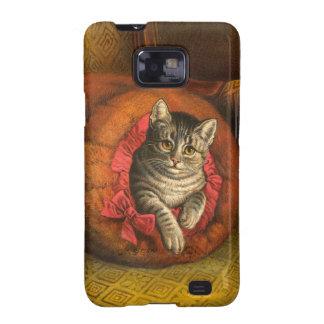Vintage Kitty-Katze Galaxy SII Hüllen