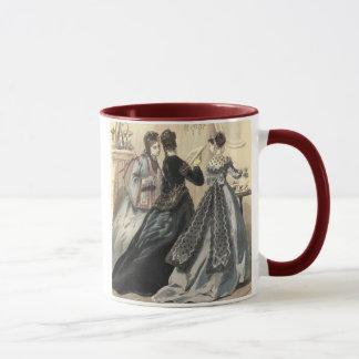 Vintage Kleidung - Tee-Zeit Tasse