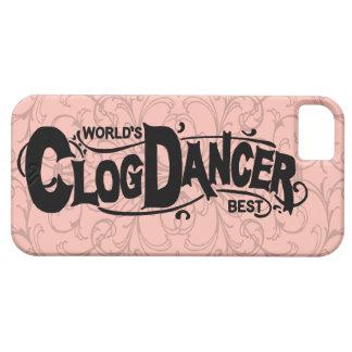 Vintage Klotz-Tänzer-Verstopfung iPhone 5 Hülle
