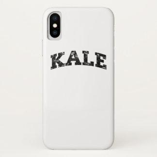 Vintage Kohl-Hochschullustiges veganes iPhone X Hülle