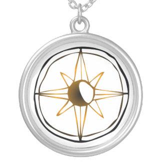 Vintage Kompass-Rose Selbst Gestalteter Schmuck