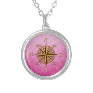 Vintage Kompass-Rose Personalisierter Schmuck