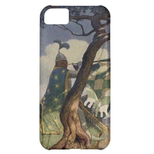 Vintage König Arthur 5 iPhone 5 Abdeckung iPhone 5C Schale