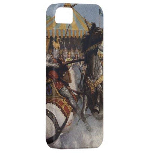 Vintage König Arthur 6 iPhone 5 Abdeckung iPhone 5 Schutzhüllen