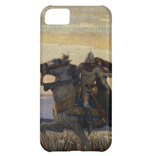 Vintage König Arthur Series 1 iPhone 5 Abdeckung Hüllen Für iPhone 5C