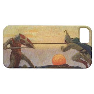 Vintage König Arthur Series 3 iPhone 5 Abdeckung iPhone 5 Schutzhüllen