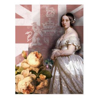 Vintage Königin Victoria Postkarte