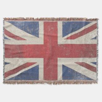Vintage Königreich-Gewerkschafts-Jack-Flagge Decke