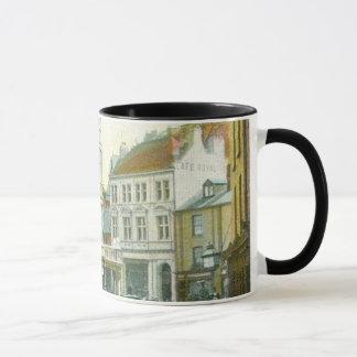 Vintage kornische Gebäude-Tasse Tasse