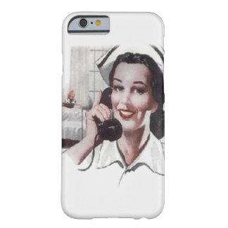 Vintage Krankenhaus-Bezirk-Krankenschwester am Barely There iPhone 6 Hülle