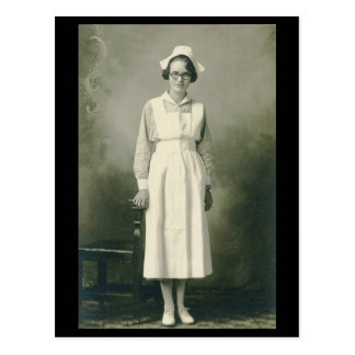 Vintage Krankenschwester-Postkarte Postkarten