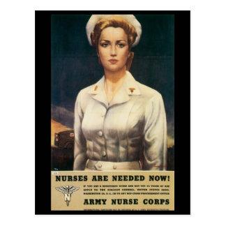 Vintage Kriegs-Postkarten, Postkarte