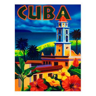 Vintage Kuba-Reise Postkarte
