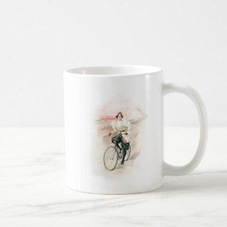 Vintage Kunst/altmodisches Fahrrad - Ägypten Kaffeetasse