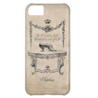 Vintage Kunst-Franzosen beschuhen iPhone 5 Kasten iPhone 5C Hülle