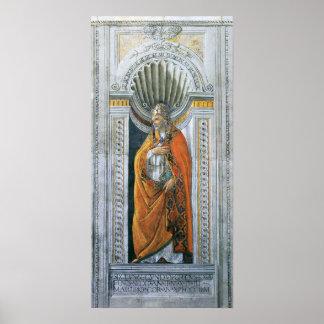Vintage Kunst, Heiliges Sixtus II durch Sandro Poster