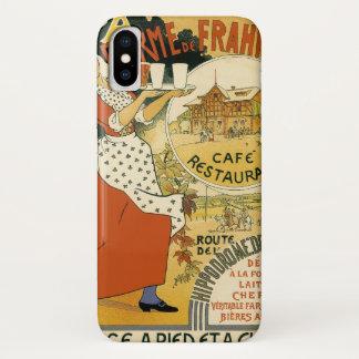 Vintage Kunst Nouveau, Bier-Bar-Restaurant und iPhone X Hülle