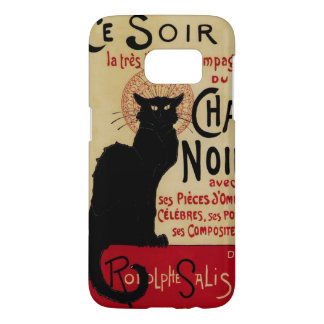 Vintage Kunst Nouveau, Cer Soir Chat-Noir schwarze