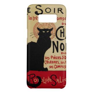 Vintage Kunst Nouveau, Cer Soir Chat-Noir schwarze Case-Mate Samsung Galaxy S8 Hülle