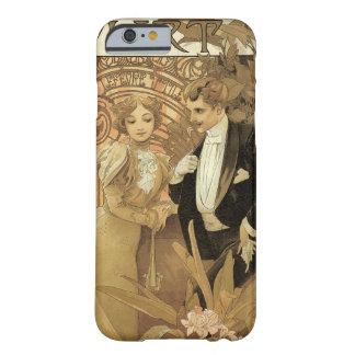 Vintage Kunst Nouveau Liebe Romance, Flirt durch Barely There iPhone 6 Hülle