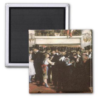 Vintage Kunst, verdeckter Ball an der Oper durch Quadratischer Magnet