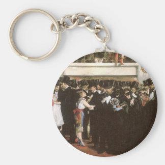Vintage Kunst, verdeckter Ball an der Oper durch Schlüsselanhänger