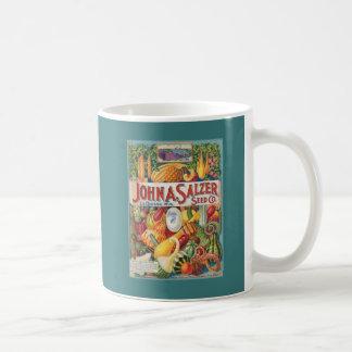 Vintage Kürbis-Samen-Paket-Kaffee-Tasse Kaffeetasse