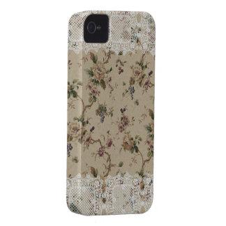 Vintage Lacy mit Blumendame Blackberry Bold Case