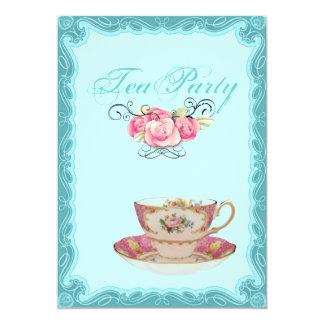 Vintage Land-Brautparty-Tee-Party Einladung