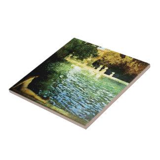 Vintage Landhäuser u. Gärten: Das Pool Keramikfliese