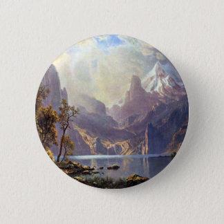 Vintage Landschaft, Lake Tahoe durch Albert Runder Button 5,7 Cm
