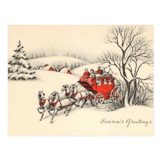 Vintage Landschafts-Postkarte Postkarte