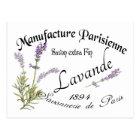 Vintage Lavender Postkarte