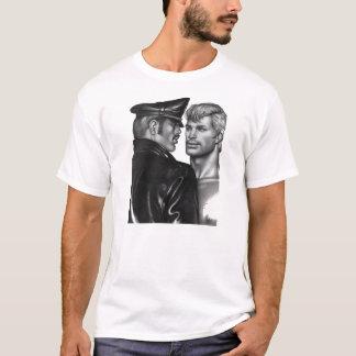 Vintage lederne Vatidom-Subvention, die Shirt