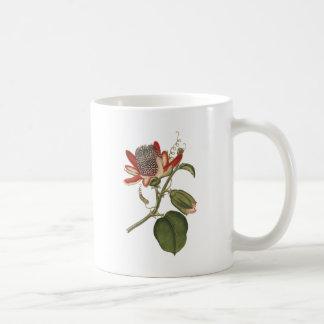 Vintage Leidenschafts-Blume Kaffeetasse