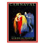 Vintage Leonetto Cappiello Karnevals-Porto-Anzeige Postkarte