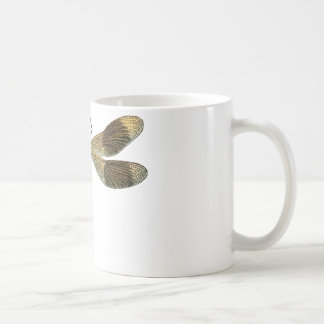 Vintage Libelle Kaffeetasse