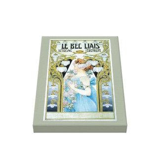 Vintage Licht-Anzeige Leinwanddruck