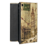 Vintage London-Sehenswürdigkeitlandschaft Big Ben iPad Mini Hüllen
