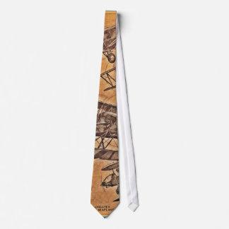 Vintage Luftfahrt-Flugzeug-Krawatte Krawatte