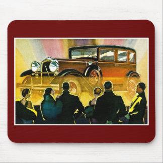 Vintage Luxusauto-Anzeige Mauspads