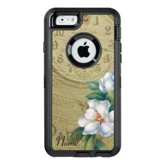 Vintage Magnolien-Blumen OtterBox iPhone 6/6s Hülle